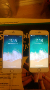 TWO IPHONE 6 UNLOCKED CHEAP