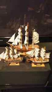 Small wooden ships Cambridge Kitchener Area image 1