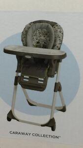 Chaise-haute 3 en 1 de Graco Duodiner LX