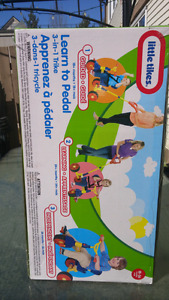 Brand new! Little tikes learn to peddle trike 3 in 1