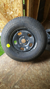 New Goodyear wrangler sra 265/70r17  on a dodge ram 1500 rim