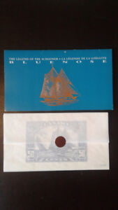 LIMITED EDITION BLUENOSE COLLECTOR STAMP KIT