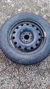 16 steel cobalt/G5 rims and two good tires