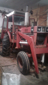 766 international  tractor for sale.