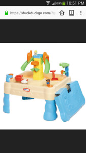 Little Tikes sandy and water table - Sandy Lagoon