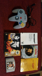 N64 007 goldeneye complete and controller