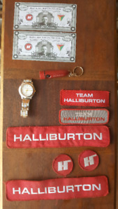 Halliburton Collectible Lot