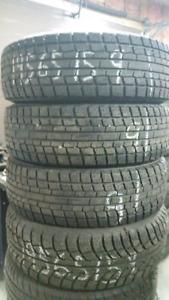 4 bons pneus d'hiver 195 65 15