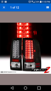 2008 GMC and up led taillights.
