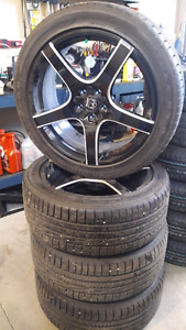 Tires 245/45ZR20 and Rims