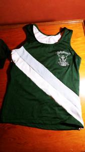 Holy Cross uniform rowing top XS