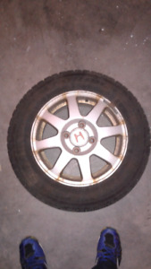 Honda snow tires and rims