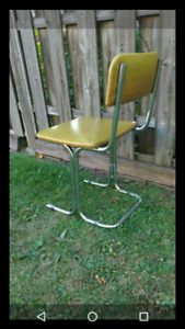 2/4 MCM Vintage Chrome/Vinyl Chairs- Grt Shape! Fits many styles