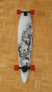 Arbor Longboard Koi Design For Sale Like New