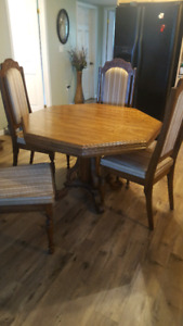 Table and Hutch For Sale