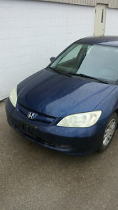 2004 Honda Civic LX-G Sedan, Runs Great. Auto, Safety/Etested!
