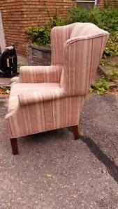 Wing back chair Peterborough Peterborough Area image 2