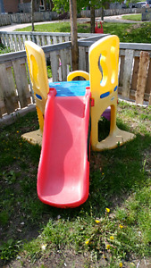Little Tike hide and seek slide