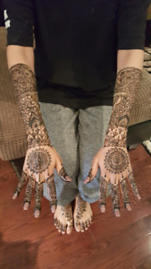 Henna in Brampton and Mississauga