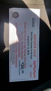 Midway ticket