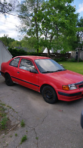 Toyota Tercel DX cash or trade for quad