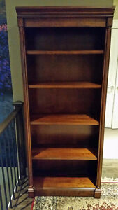 Lovely Mahogany Bookcase/Shelves - Excellent Condition