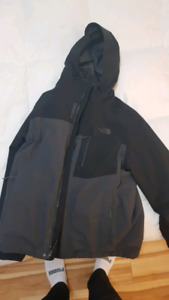 L size North Face jacket with inner lining