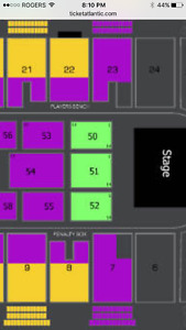 Jim Gaffigan Friday May 12 - 4 rows from stage $170/pair