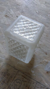 vintage light shade-for wall mount or ceiling mount-outside lamp