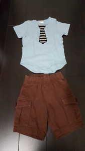 Lot of 32 Baby Boy Clothes 6M-12M. Excellent Condition.