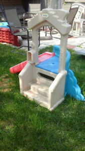 Little Tikes play structure with slide