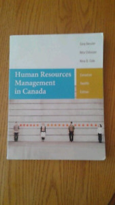 HUMAN RESOURCES CANADA 12 EDITION NSCC
