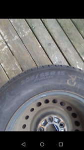 4 Brand new last year, Studless Michelin winter tires $500