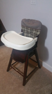 Eddie Bauer classic wood high chairs, used