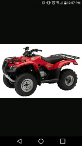 Looking for 4x4 quads have 2500 cash