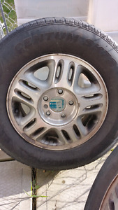 4 Factory Rims from 2002 Chevy Venture
