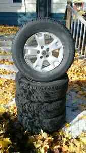 """16"""" Ford Alloy Rims and A/Ts Belleville Belleville Area image 1"""
