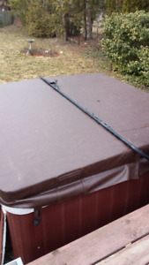 Hot tub lift , cover and filters for sale