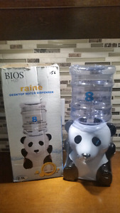 Panda Bedroom / Desktop 8 Glasses Water Dispenser  (2.5L) - New