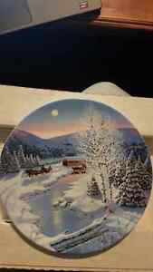 """Jingle Bells"" The Spirit of Christmas W.S George Plate 1991"