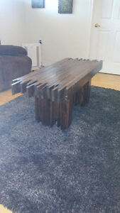 Rustic Meets Modern Reclaimed Wood Coffee Table *PDWFD*