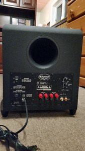 klipsch 10 in home theater subwoofer