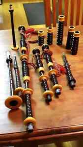 Late 1970s Hardie Bagpipes