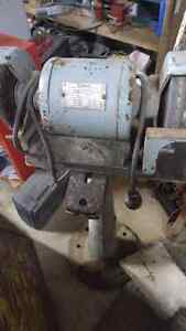 Grinder and wire wheel