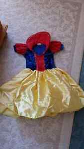 dress up costume Snow White size 2-3T