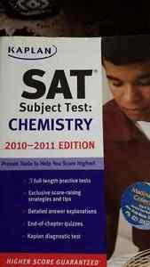 NEW Kaplan SAT Subject Test Chemistry 2010-2011