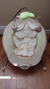 Fisher Price My Little Snugabunny Deluxe Bouncer