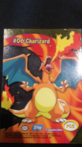 Carte pokemon Charizard #006 topps pc3 200