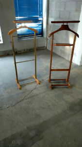 Wood valet stand for suits $60.ea