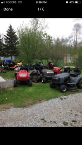 Lawn tractor /lawnmower repairs  1-2 day service